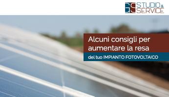 consigli gestione impianto fotovoltaico - GS Service