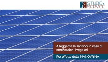 Manovrina alleggerite le sanzioni GS Service